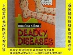 二手書博民逛書店HORRIBLE罕見SCIENCE Deadly Disease