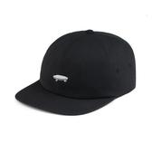 【現貨】VANS 棒球帽 休閒 運動 帽子 黑底 白LOGO 滑板 版牌 男女 VN000YXKY28