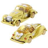 TOMICA 10週年抽抽樂系列-金色米奇車DS13190 迪士尼小汽車