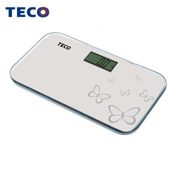 【TECO 東元】 時尚電子迷你體重計 XYFWT281