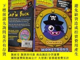 二手書博民逛書店Moshi罕見Monsters Monstrous Biographies Capn Buck ISBN:9781