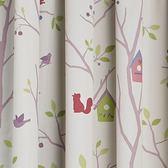童繪森林三明治防螨抗菌印花遮光窗簾 0.2x290x240cm