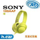 《麥士音響》 SONY索尼 h.ear 耳罩式耳機 100AAP 5色