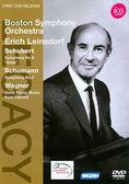 【正版全新DVD清倉 4.5折】波士頓交響樂團和埃里希·萊因斯多夫發揮舒伯特和舒曼