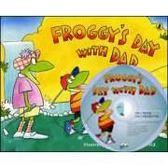 【麥克書店】FROGGY'S DAY WITH DAD/英文故事繪本+CD