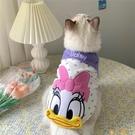 韓版寵物狗狗貓咪衣服可愛小奶貓布偶貓矮腳無袖夏季薄款防掉毛【小狮子】
