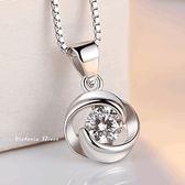 S925銀 絢麗閃亮動人時尚項鍊-維多利亞181016