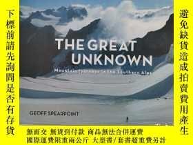 二手書博民逛書店the罕見great unknown mountain journeys in the southern alps