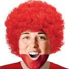 爆炸頭假髮1入-蘋果紅