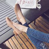 秋季韓版百搭粗跟時尚中跟復古單鞋   LY6744『愛尚生活館』