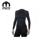mico  女Primaloft無縫圓領保暖衣1475 / 城市綠洲 (運動機能、登山、跑步、旅行、滑雪)
