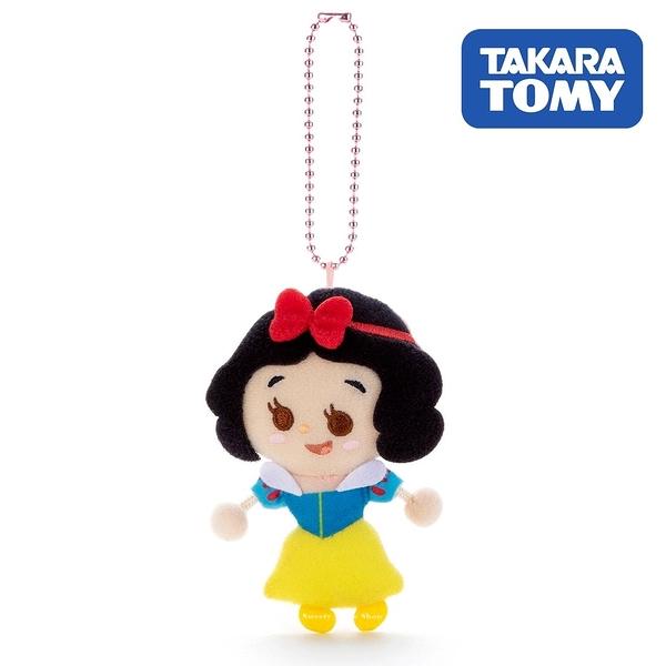 日本限定 迪士尼公主系列 白雪公主 TOY COMPANY 擦擦珠鍊吊飾 / 珠鍊玩偶