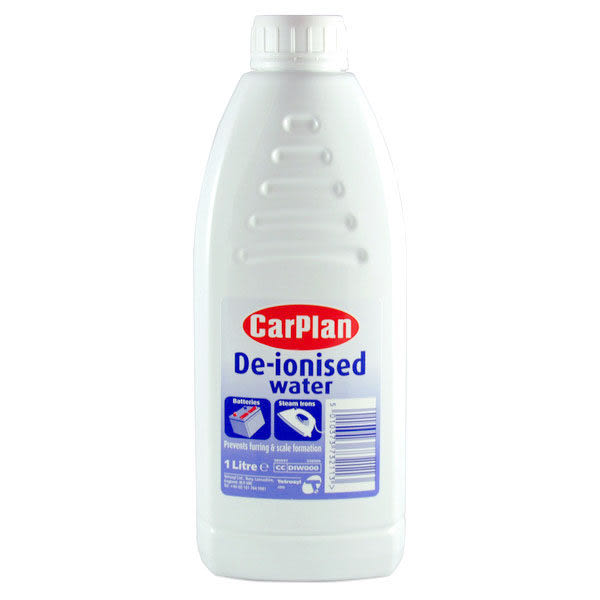 CarPlan卡派爾De-ionised 去離子水,可補充電瓶液和水箱水