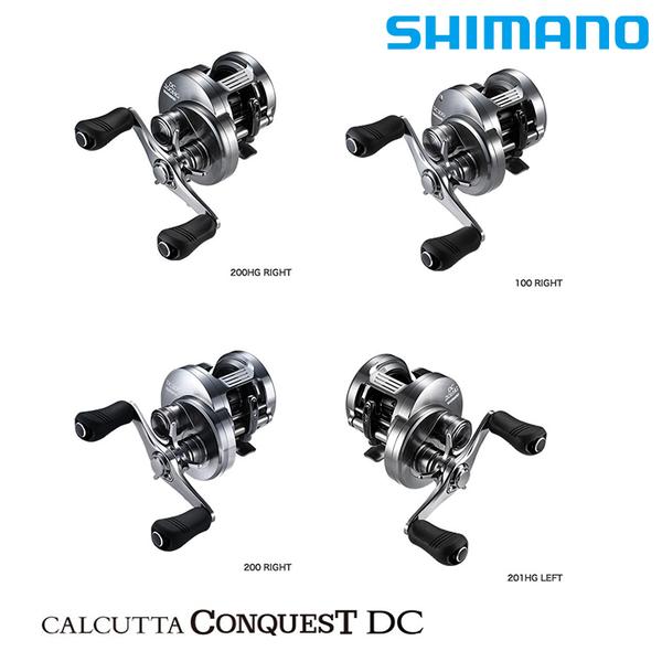 漁拓釣具 SHIMANO 20 CT CONQUEST DC 200 型 系列 [兩軸捲線器]