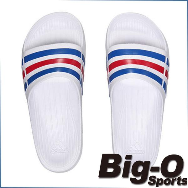 BIG-O 現貨 免運 限量促銷  ADIDAS DURAMO SLIDE 運動拖鞋 U43664