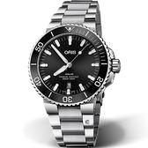 Oris豪利時Aquis時間之海300米潛水機械錶 0173377304134-0782405PEB