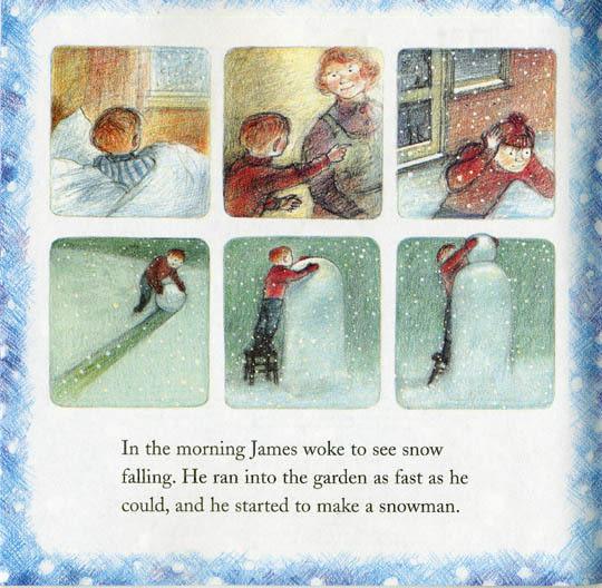 【麥克書店】THE SNOWMAN STORYBOOK /英文繪本《聖誕節》