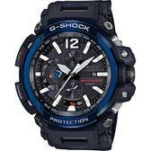 【台南 時代鐘錶 CASIO】G-SHOCK 宏崑公司貨 GPW-2000-1A2 電波GPS藍芽強悍機能飛行錶