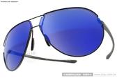 Porsche Design太陽眼鏡 PO8617 D (黑-水銀藍) 頂級奢華飛官水銀鏡面款 # 金橘眼鏡