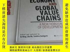 二手書博民逛書店BRICS罕見ECONOMY AND GLOBAL VALUE CHAINS (金磚經濟與全球價值鏈:一個新的發展