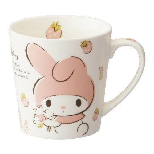 【震撼精品百貨】My Melody 美樂蒂~《SKATER》美樂蒂復古草莓系列陶瓷馬克杯(400ml)