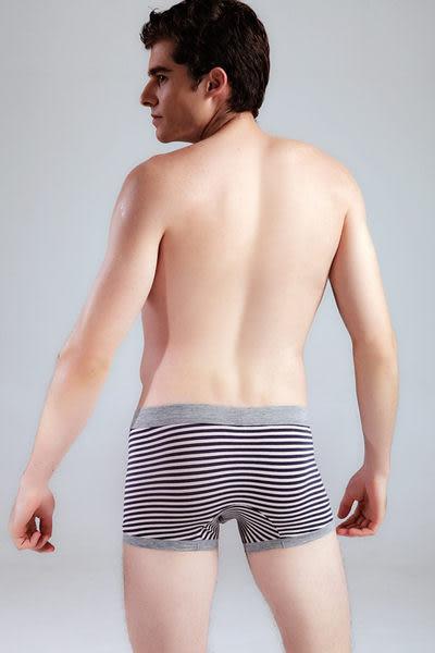 *免運*【Sexy cat】潮流嚴選 舒適平口褲/內褲(條紋黑) M-XXL