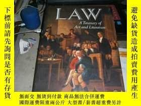 二手書博民逛書店Law罕見a Treasury of Art and Literature 法律藝術Y4849 SARA RO