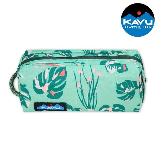 【KAVU】時尚休閒小袋 Pixie Pouch 9011 盎然露臺 / 城市綠洲 (盥洗包 化妝包 手拿包 收納包 美國品牌)