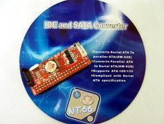 IDE 轉 SERIAL ATA  SATA 主機板擴充卡 (IDE-4)