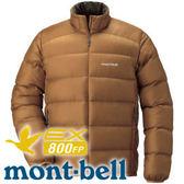 【Mont-Bell 日本 Light Alpine Down男800FP羽絨夾克 深咖】1101428/羽絨夾克★滿額送