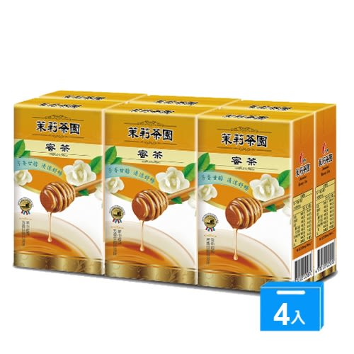 光泉茉莉茶園-蜜茶250ml*24入/箱【愛買】