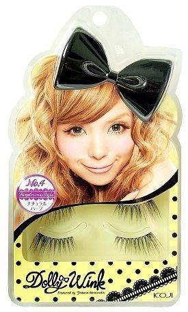 KOJI Dolly Wink 優雅風情 NO.4 (2副入附膠水)【益若翼代言】【七三七香水精品坊】
