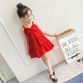 童裝女童洋裝夏裝新款3兒童4夏季5吊帶6歲裙子7寶寶公主裙