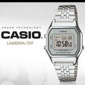 CASIO LA680WA-7 耀眼風格數字腕錶 LA-680WA-7DF 熱賣中!