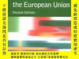 二手書博民逛書店The罕見Institutions Of The European Union (new European Uni