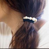 金/銀粉成串珍珠髮圈