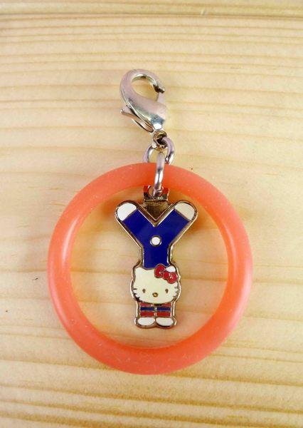 【震撼精品百貨】Hello Kitty 凱蒂貓~KITTY吊飾拉扣-英文字母Y