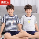 男童睡衣夏季薄款純棉兒童空調服小男孩夏款大童家居服13周歲以上