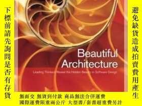 二手書博民逛書店Beautiful罕見ArchitectureY255562 Diomidis Spinellis O rei