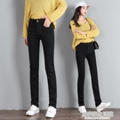 黑色牛仔褲女2020春秋季新款高腰顯瘦百...