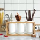 陶瓷筷子簍家用筷子筒廚房筷子勺子收納置物架筷子籠筷子桶 一米陽光