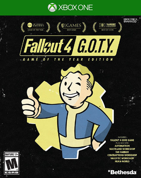 X1 Fallout 4 Game of The Year Edition 異塵餘生 4 年度版(美版代購)