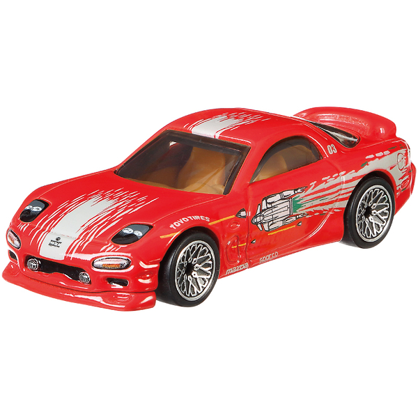 Hot Wheels風火輪玩命關頭系列Fast & Furious合金車系列 玩具反斗城