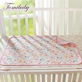 嬰兒防濕尿墊防水透氣可洗薄大號新生兒童寶寶用品防漏夏季表層純棉【博雅生活館】
