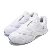 Reebok 籃球鞋 Answer V Low 白 全白 男鞋 果凍底 低筒 運動鞋 【PUMP306】 EF7602