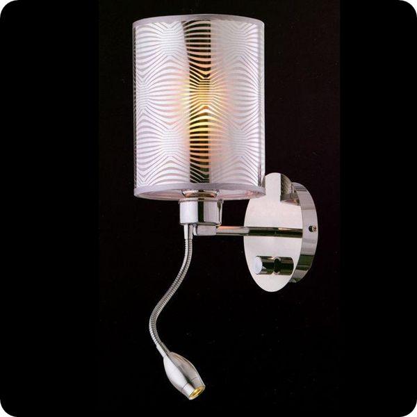 金屬布罩壁燈─高50深20寬15 cm─E27x1【雅典娜家飾】A708171多可調角度蛇管燈