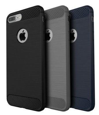 碳纖維 簡約 拉絲 手機殼 軟殼 tpu 包邊 防摔 纖薄 iphone 6 6s 7 plus i7 抗震 創意 保護套