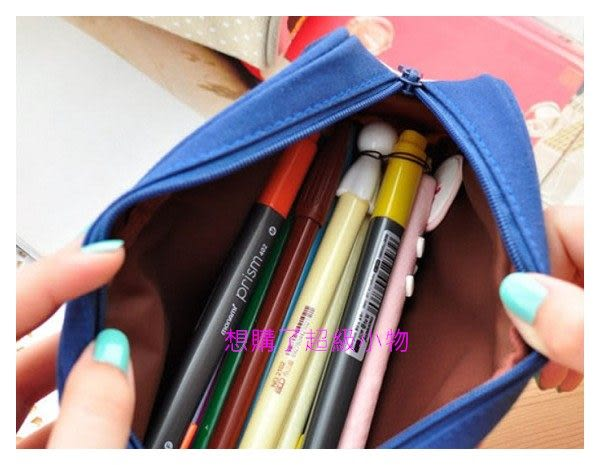 韓版 小清新普拉女孩筆袋  小飾品收納袋  想購了超級小物