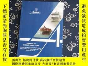 二手書博民逛書店Admiralty罕見Sailing Directions Ni