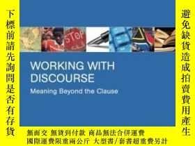 二手書博民逛書店Working罕見With Discourse Second Edition-使用話語第二版Y436638 J